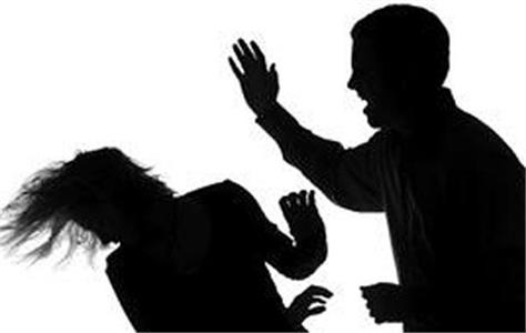 the woman accused the father in law of hitting the family