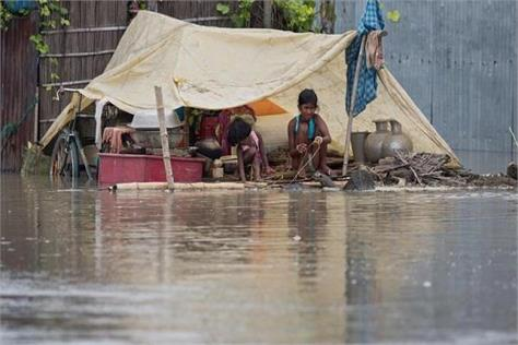 the place in the affected areas but diseases started to rise