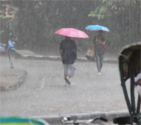 heavy rain in 24 hours at chandigarh