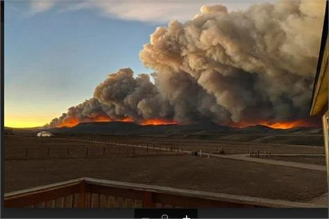 colorado wildfires rocky mountain national park