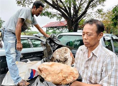 thailand fisherman millionaire got whale vomits ambergris