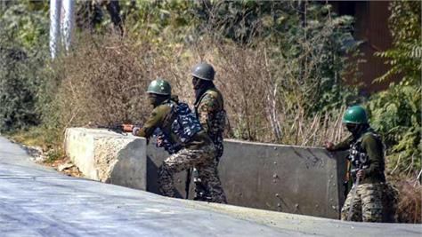 grenade attack on crpf camp in sopore  jammu and kashmir