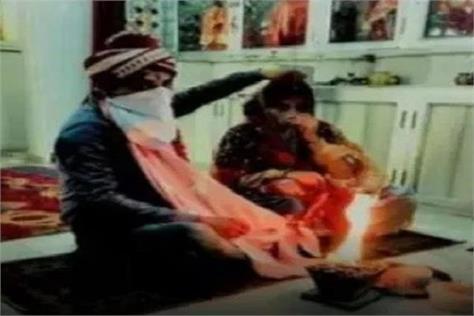 hindu girl marriage muslim boy haryana police security
