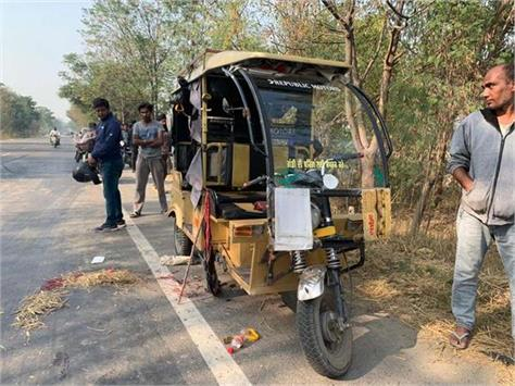 road accident tanda 6 peoples injured
