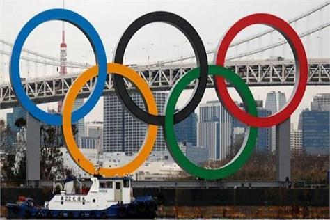 tokyo olympics  rings  covid 19 epidemic