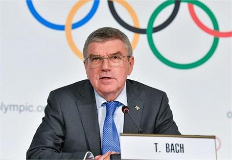 thomas bach  president of the ioc  the sole candidate
