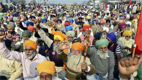 in preparation for the delhi march tractors will leave punjab and haryana today