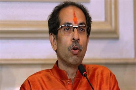 uddhav said never let the saffron flag of the party blow