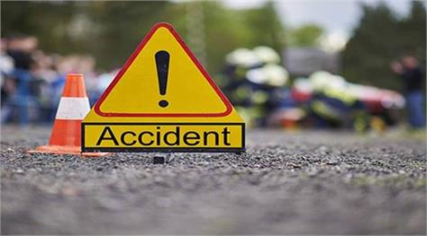vehicle hit by motorcycle rider  death
