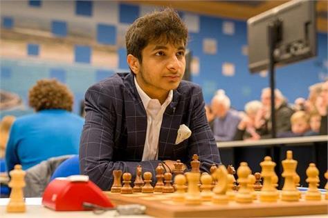 vidit gujrathi  chess  victory