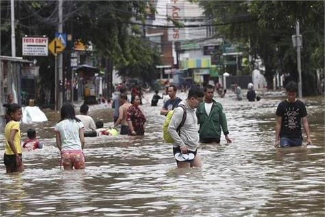 indonesia  heavy rain