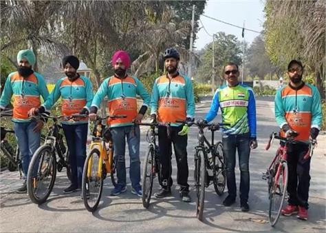 faridkot cycling campaign