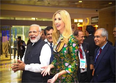 ivanka shares old memories with pm modi before coming to india