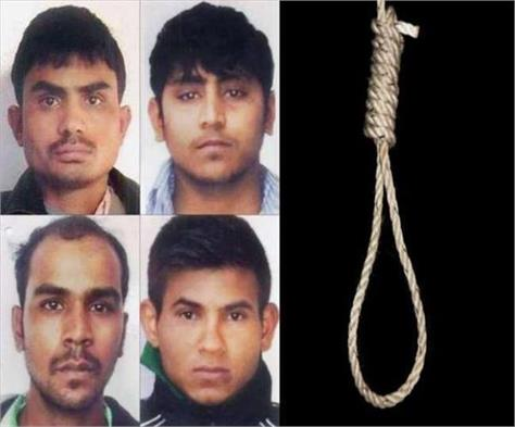nirbhaya   received justice after 7 years  4 accused hanged