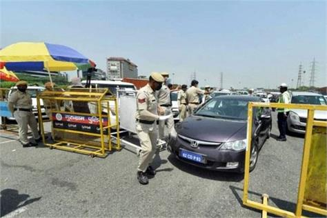 haryana to   completely seal   borders with delhi