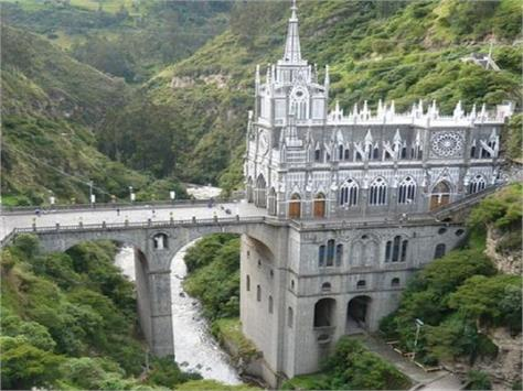 colombia las lajas cathedral church