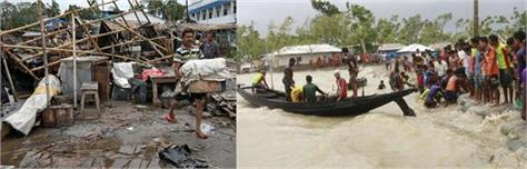 footballers set out to help amphan affected west bengal