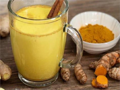 turmeric milk  strong bones