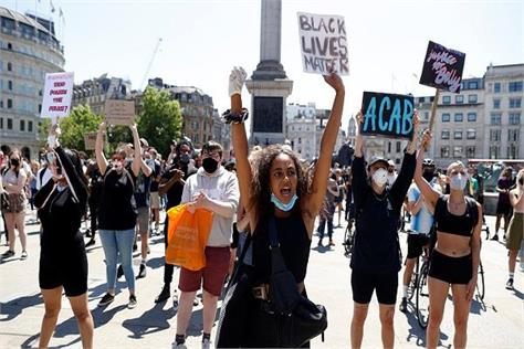 britain to support us george floyd protests