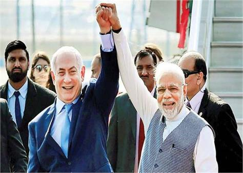 israeli embassy  extends wishes  india   friendship day tere jaisa yaar kahan