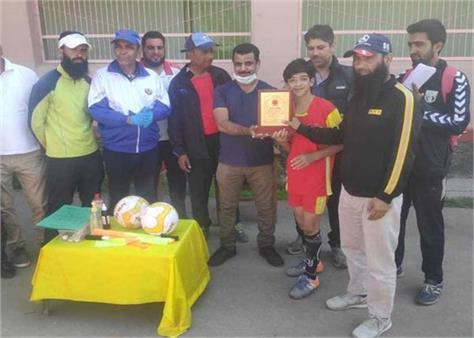srinagar inter zonal football tournament concluded