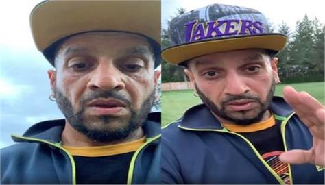 jazzy b live on instagram and talking about farmers protest