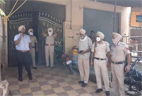 firing tarn taran police
