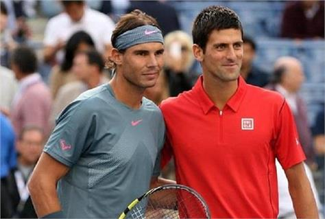 djokovic and nadal in the quarterfinals