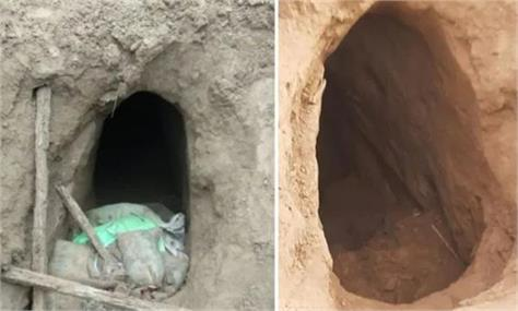 the 150 meter long tunnel on the border   who is to blame