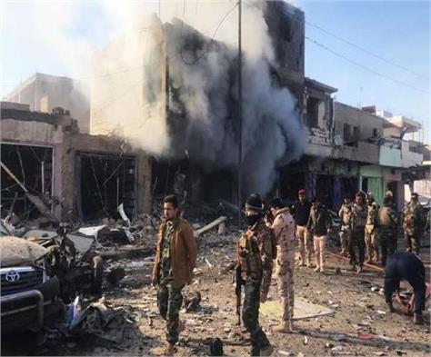 middle east is suicide attack in iraq many killed