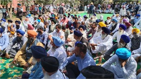 shiromani akali dal protest in tanda