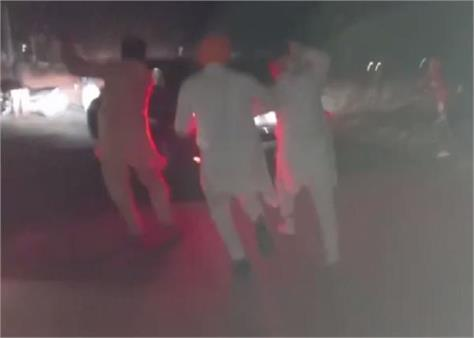 rss vehicle attack firozpur