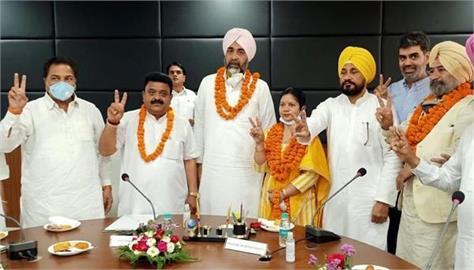 bathinda municipal corporation  raman goyal crowned president