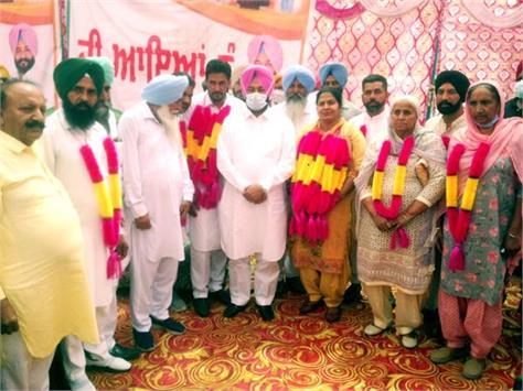 buta singh president of bhagta bhai nagar panchayat and