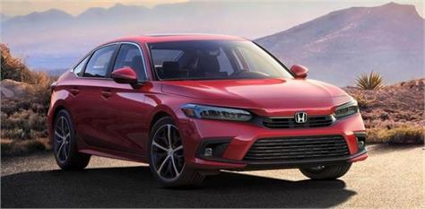 2022 honda civic sedan first official images