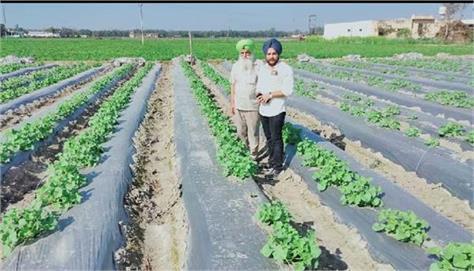 new techniques  farmers  training