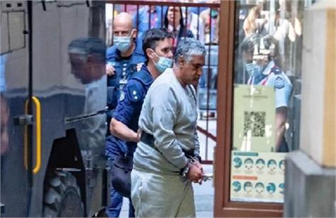 indian  truck driver  jailed  22 years  deaths 4 australian police officers