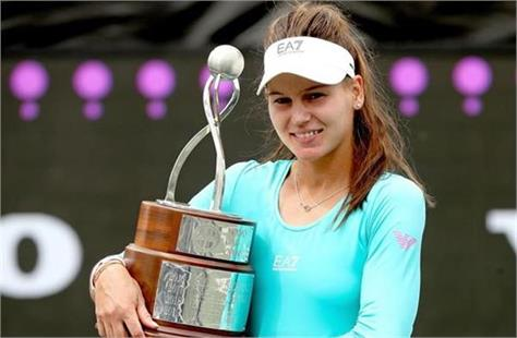 kudermetova won her first wta title in singles